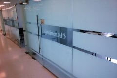 Fasara Decorative Window Film Frosted Logo