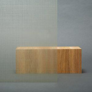 3M™ FASARA™ Decorative Films 3M™ FASARA™ Glass Finishes Fabric/Washi SH2CSSEC 1270, Sensai Linen Champagne Gold