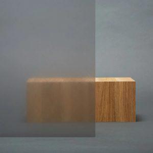 3M™ FASARA™ Decorative Films 3M™ FASARA™ Glass Finishes SH2CHMAL, Cross Hairline Light Gray