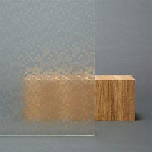 3M™ FASARA™ Decorative Films 3M™ FASARA™ Glass Finishes SH2SMMA, Mosiac Matte