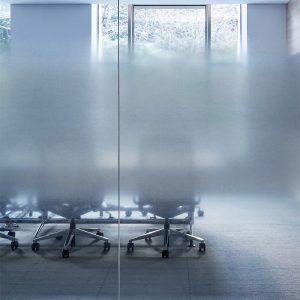 3M™ FASARA™ Decorative Films 3M™ FASARA™ Glass Finishes SH2FGCNL, Cloud Narrow Light Gray